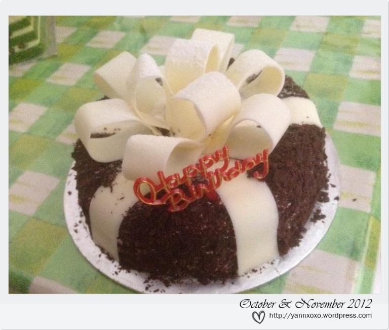 my b'day cake